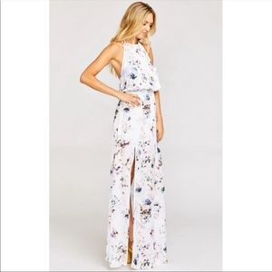Show Me Your MuMu floral floor length dress